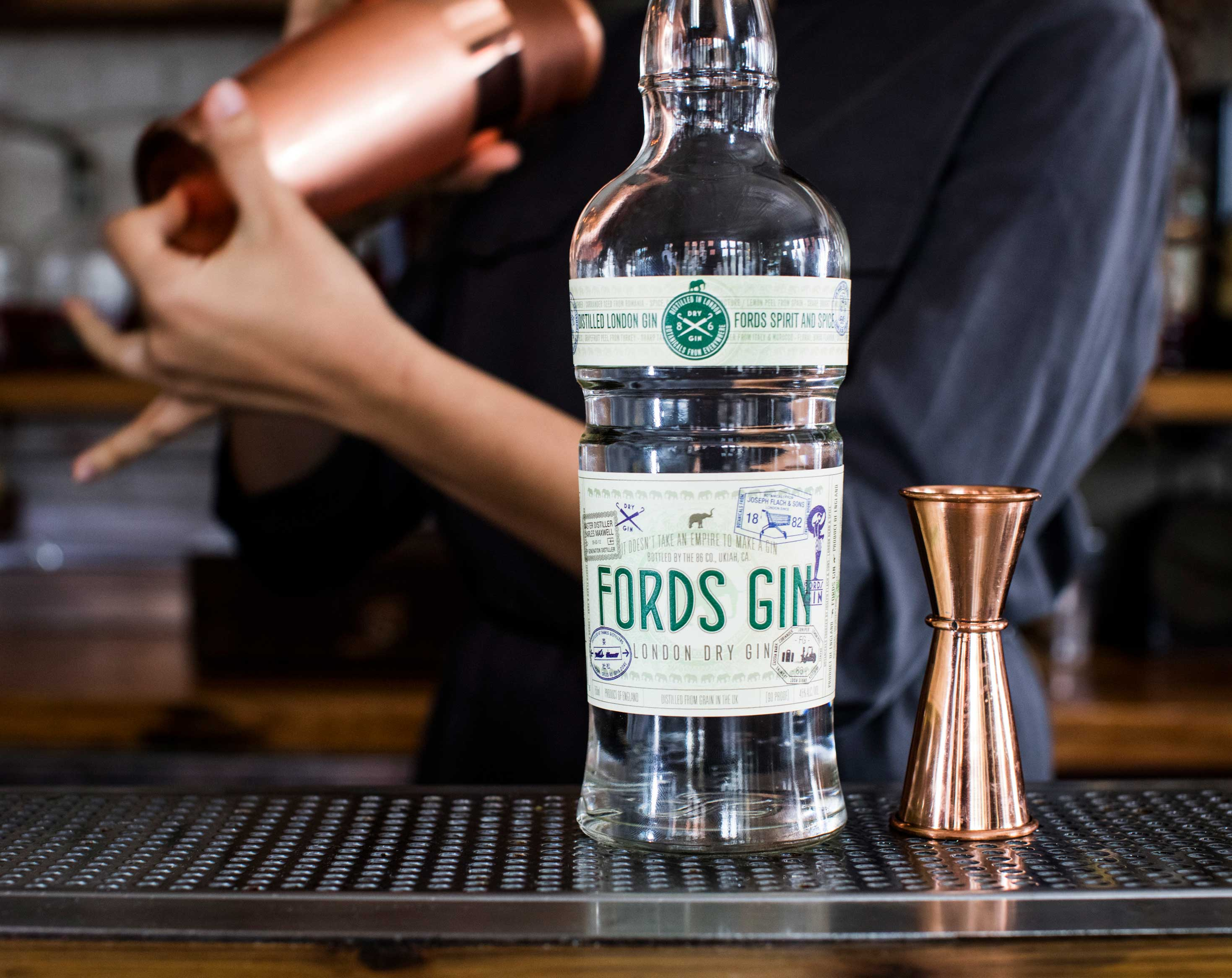 Fords Gin Officer's Reserve