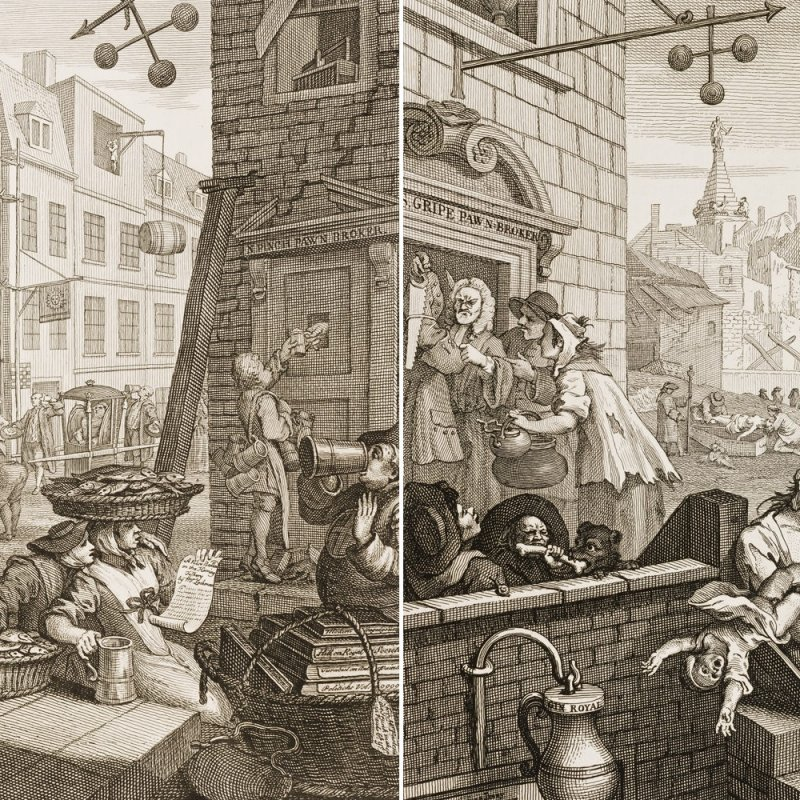 The Complete and Slightly Insane History of Gin in England | VinePair