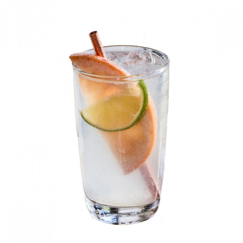 Grapefruit rickey cocktail image
